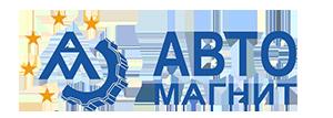 Логотип - Авто-Магнит - сеть магазинов автозапчастей, СТО, шиномонтаж, грузоперевозки в г.Сумы