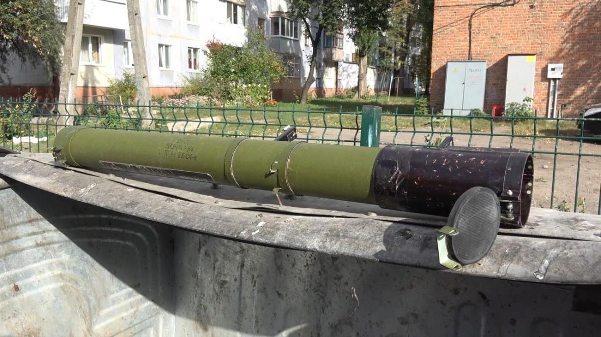 В Сумах в мусорном баке обнаружен гранатометный тубус (ФОТО), фото-2