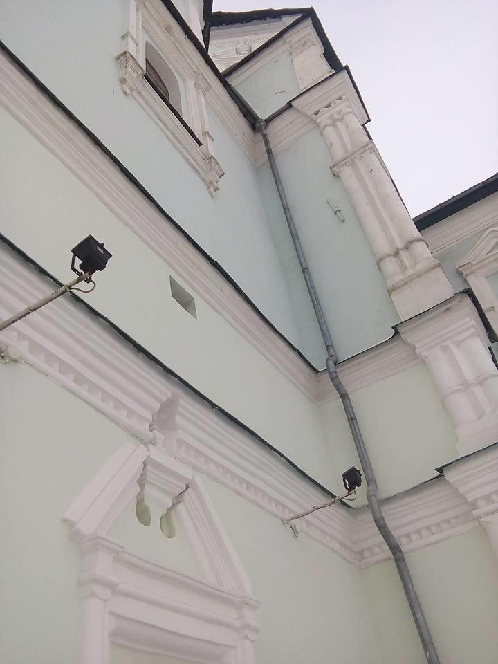В Сумах подсветили стены Воскресенской церкви, фото-3