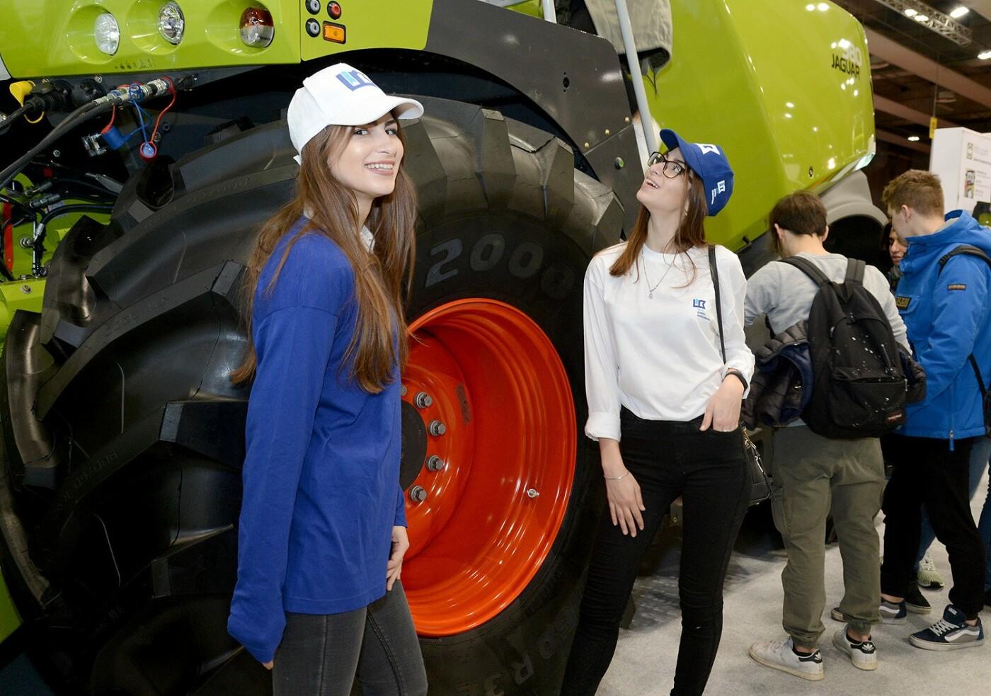 Студентки СНАУ посетили выставку Fieragricola 2018 в Италии, фото-4