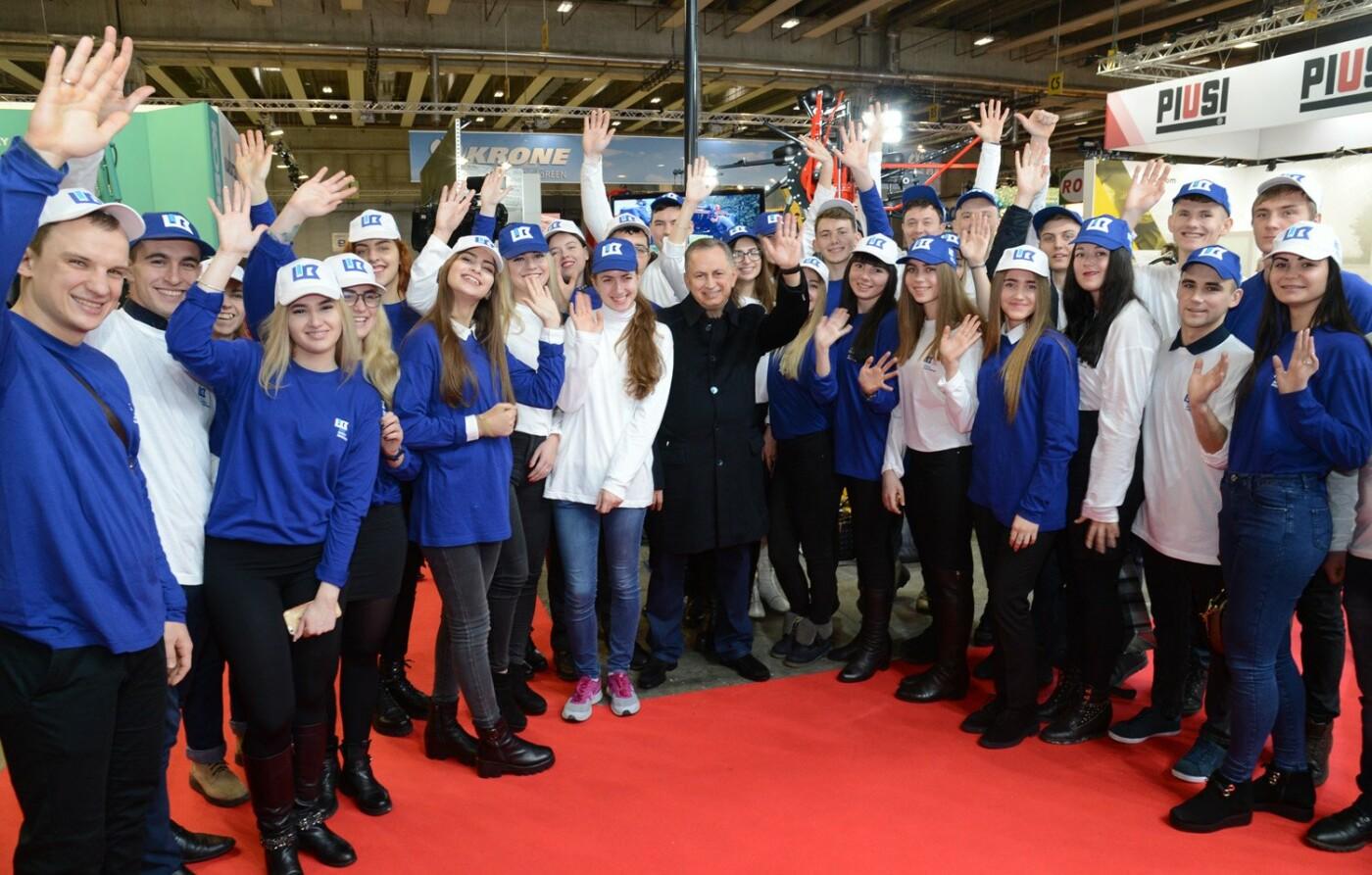 Студентки СНАУ посетили выставку Fieragricola 2018 в Италии, фото-3
