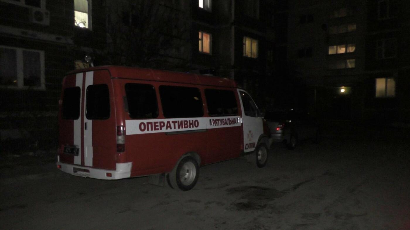 В Сумах на Героев Крут пожар: спасатели эвакуировали детей, фото-1