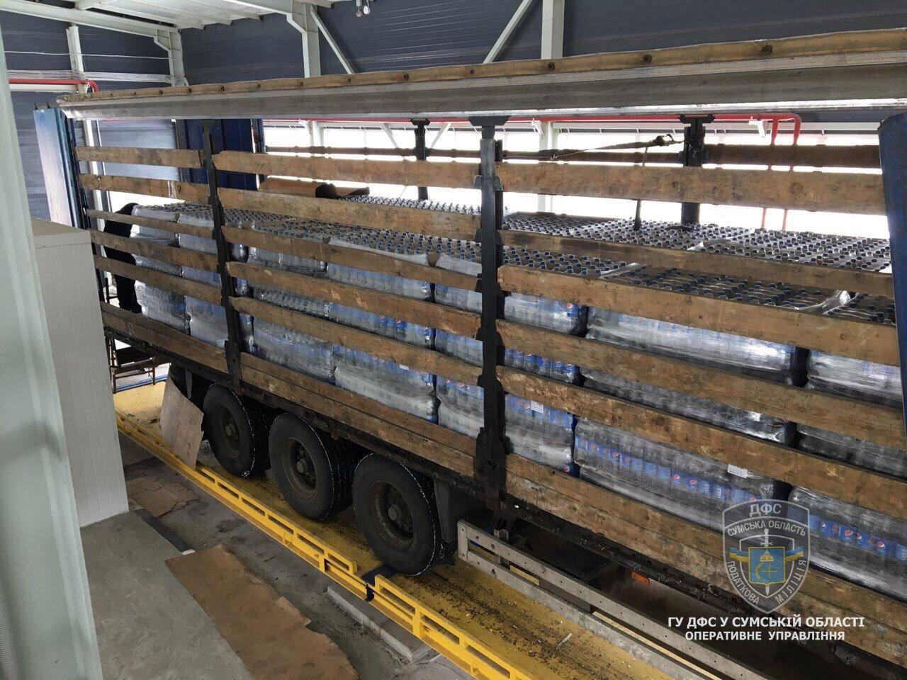 Налоговая милиция Сумщины обнаружила незаконных экспортеров продуктов питания в Россию, фото-6