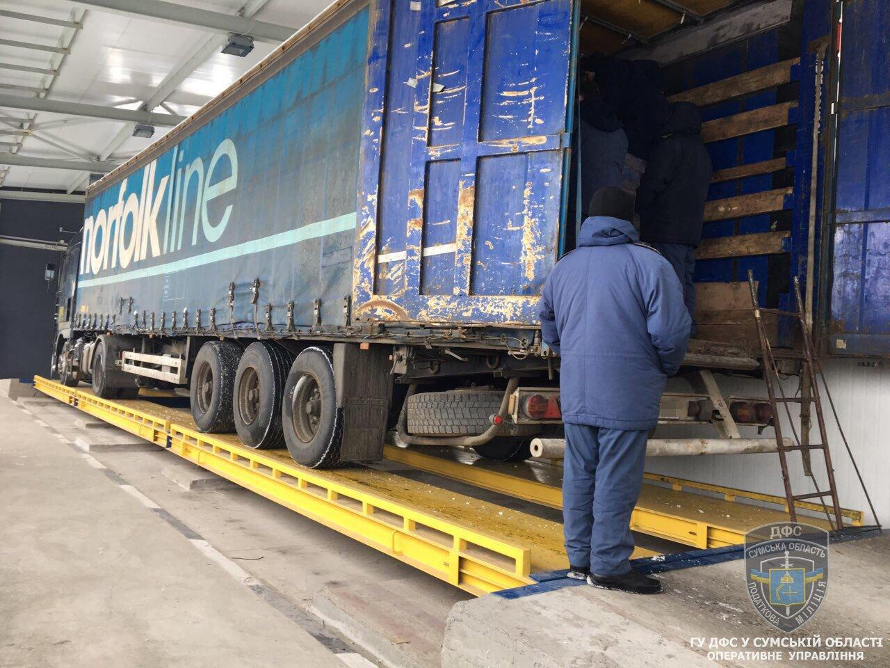 Налоговая милиция Сумщины обнаружила незаконных экспортеров продуктов питания в Россию, фото-3