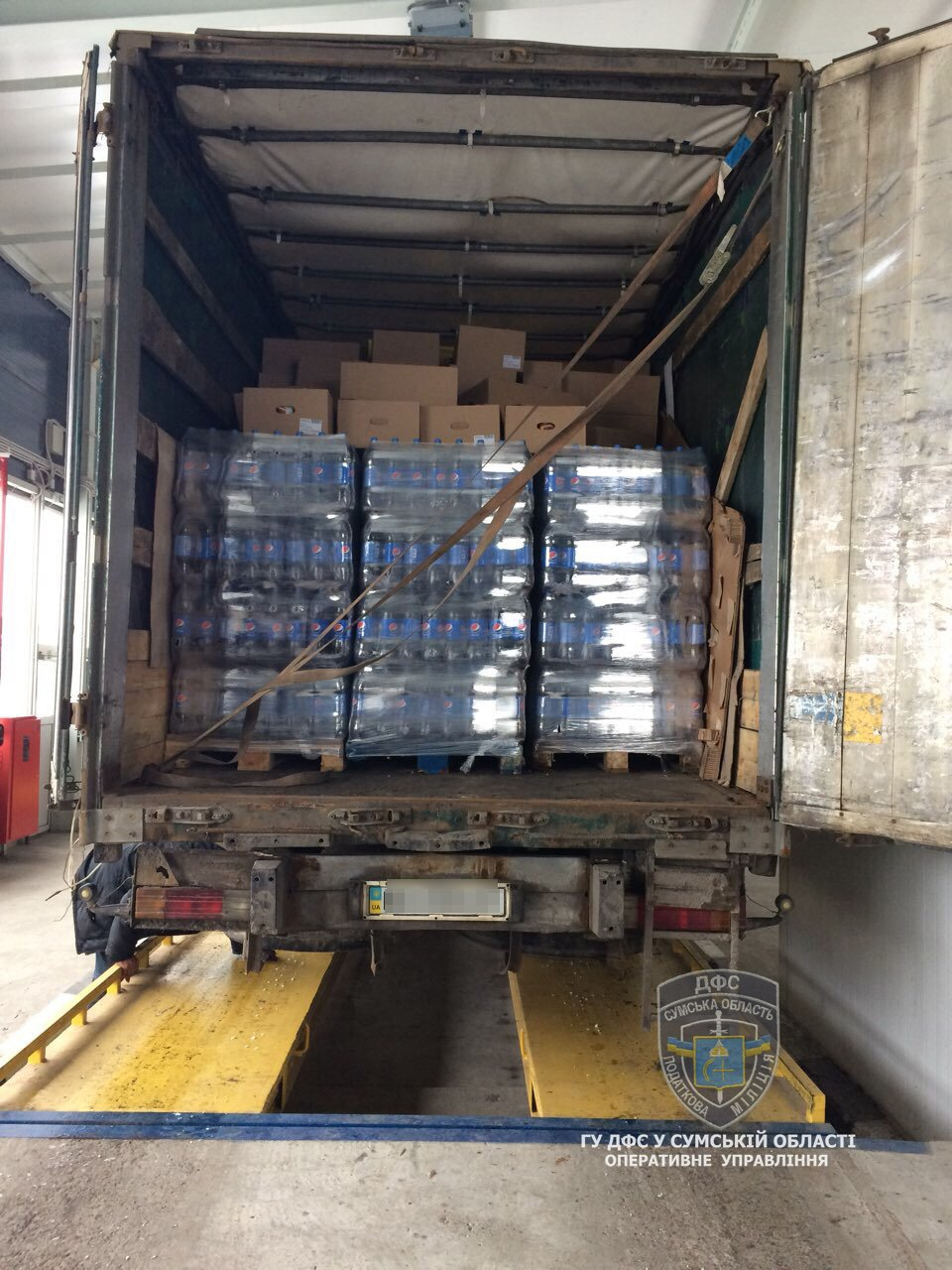 Налоговая милиция Сумщины обнаружила незаконных экспортеров продуктов питания в Россию, фото-2