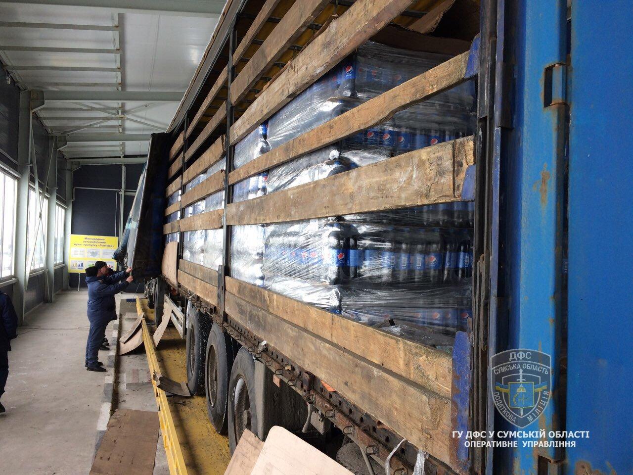 Налоговая милиция Сумщины обнаружила незаконных экспортеров продуктов питания в Россию, фото-4