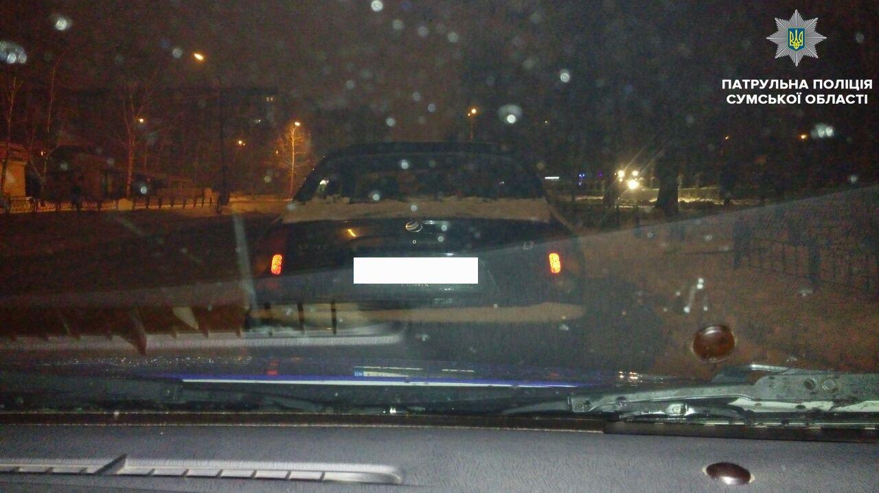 В Сумах нашли автомобиль, который находится в розыске, фото-1