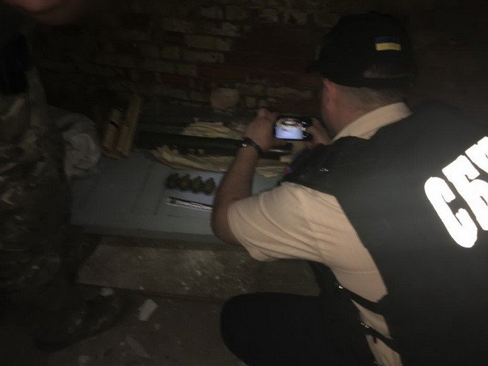 В Сумах СБУ изъяла оружие из района проведения операции объединенных сил, фото-2