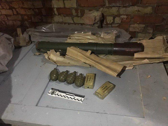В Сумах СБУ изъяла оружие из района проведения операции объединенных сил, фото-3