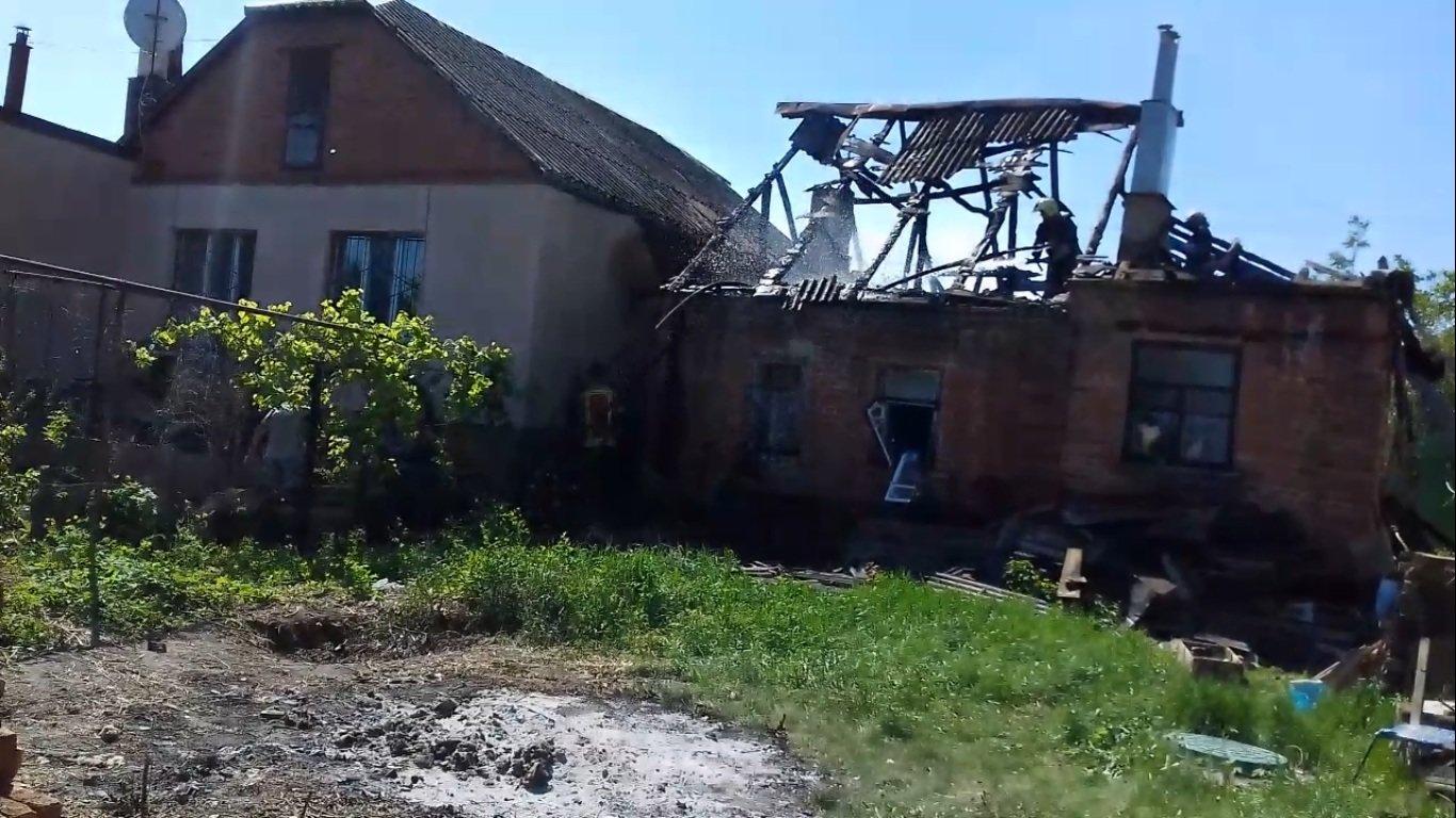 В Сумах горел жилой дом, фото-2
