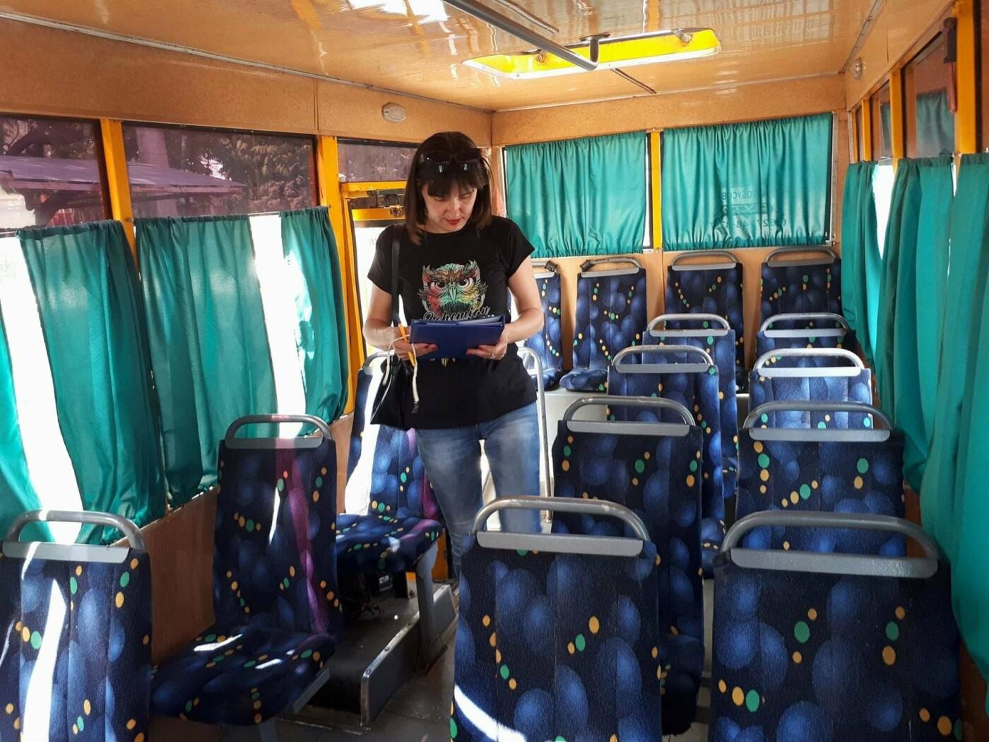 Временная транспортная комиссия завершила повторную проверку частных перевозчиков в Сумах, фото-5