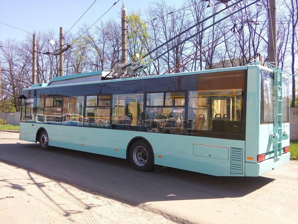 В Сумах на линию выехал новый троллейбус, фото-2