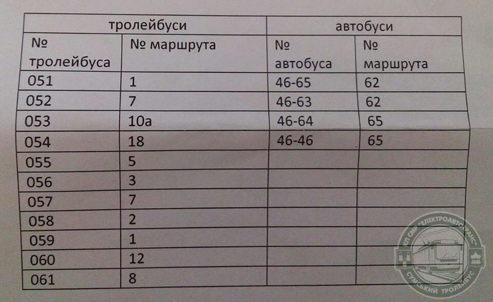 Завтра в Сумах троллейбусы и автобусы «Богдан Моторс» будут бесплатно возить пассажиров, фото-2