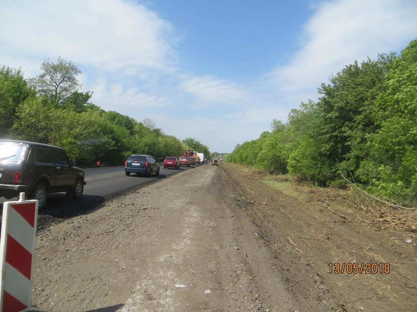 Служба автомобильных дорог ремонтирует дорогу Харьков-Ахтырка, фото-1