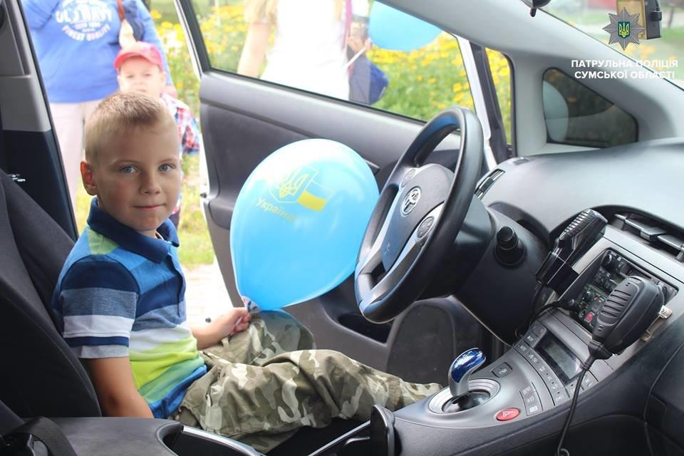 В Сумах патрульная полиция отметила свой День рождения в кругу детей , фото-13