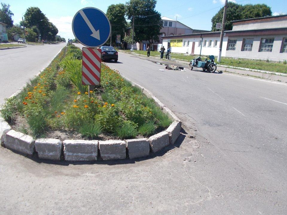 На Сумщине произошло ДТП с участием автомобиля «Джили» и мотоциклиста , фото-3