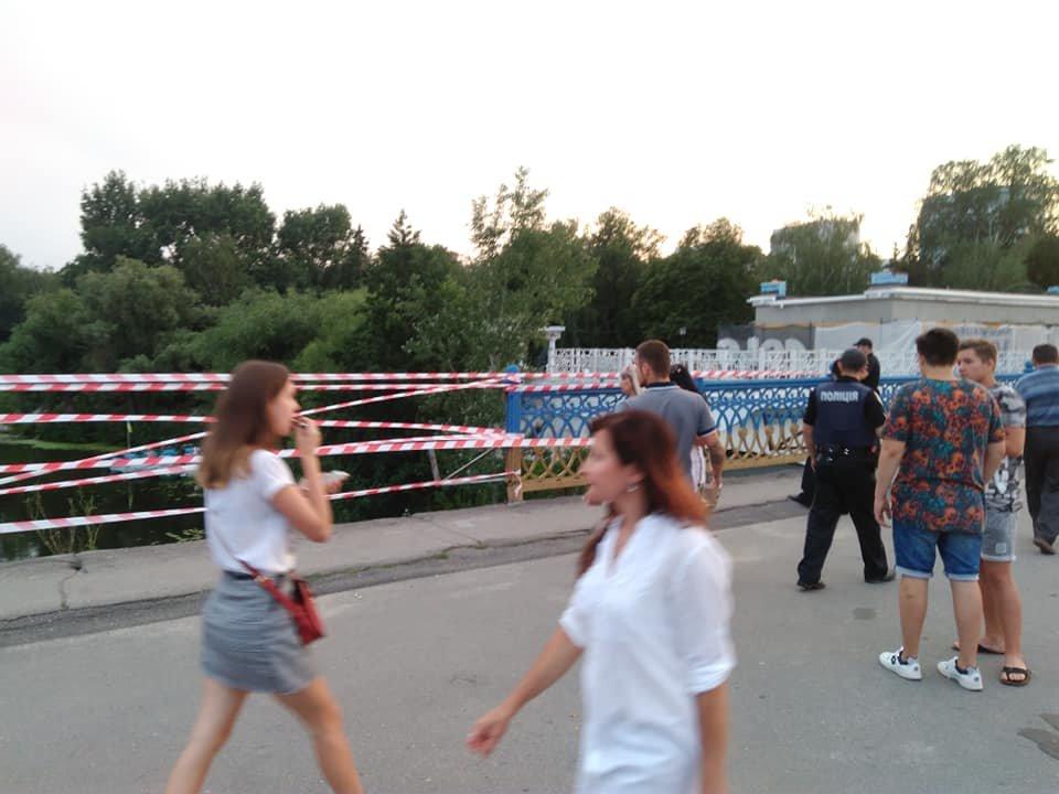 В Сумах обвалились перила Харьковского моста, фото-6