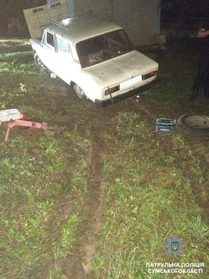 В Сумах пьяный водитель въехал в здание, фото-3