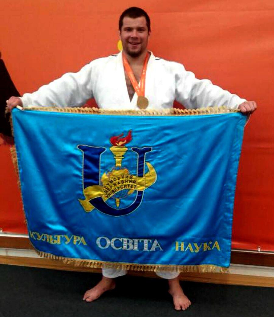 Студент СумГУ стал чемпионом IV Европейских студенческих игр, фото-1