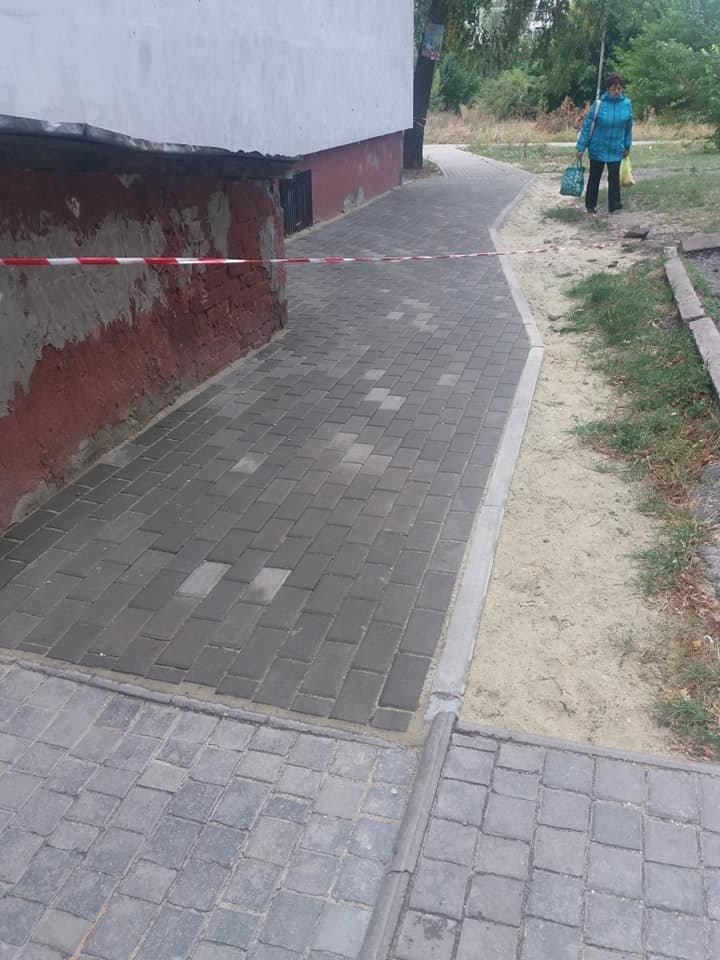В Сумах продолжается ремонт тротуаров , фото-5