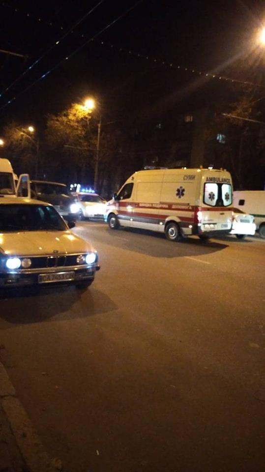 В Сумах на пр. Шевченко сбили пешехода, фото-1