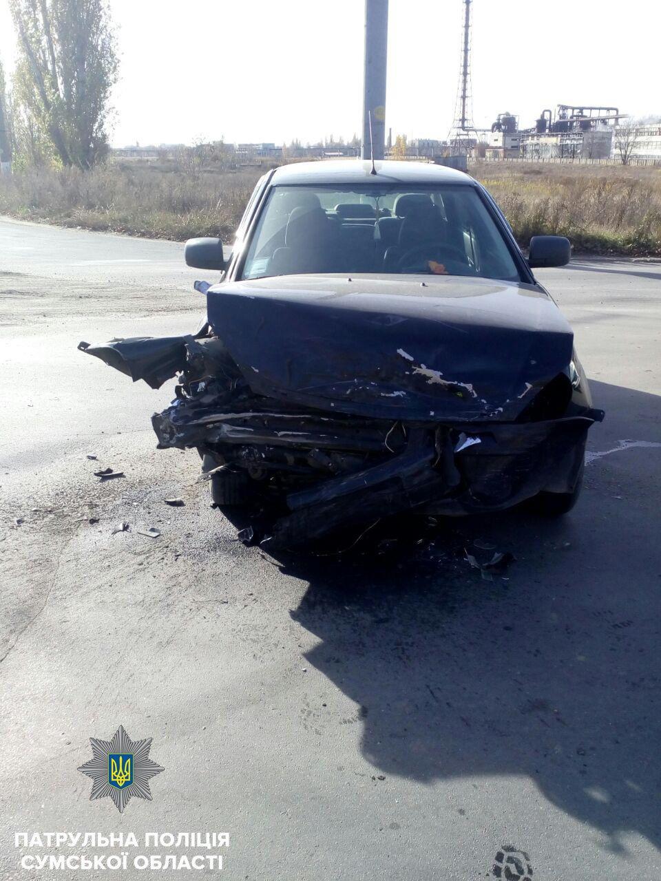 В результате ДТП в Сумах пострадал мужчина и ребенок, фото-1