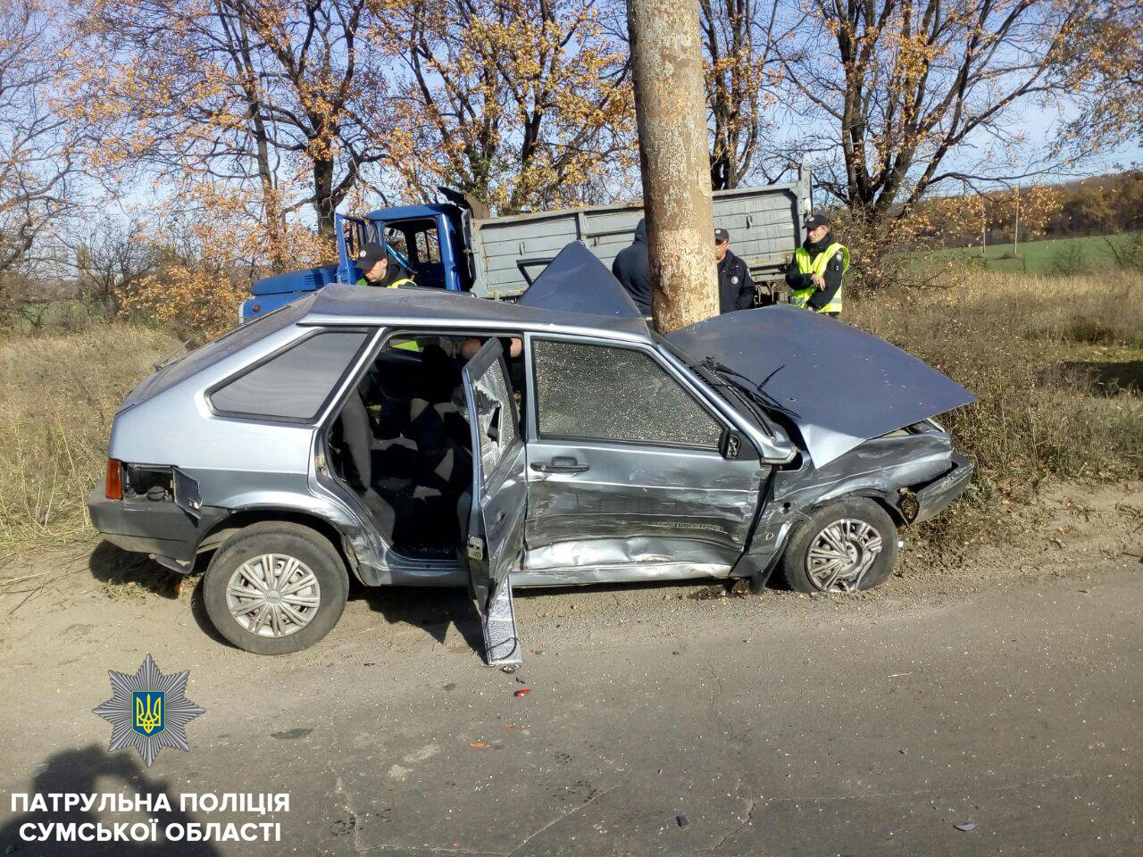В результате ДТП в Сумах пострадал мужчина и ребенок, фото-3