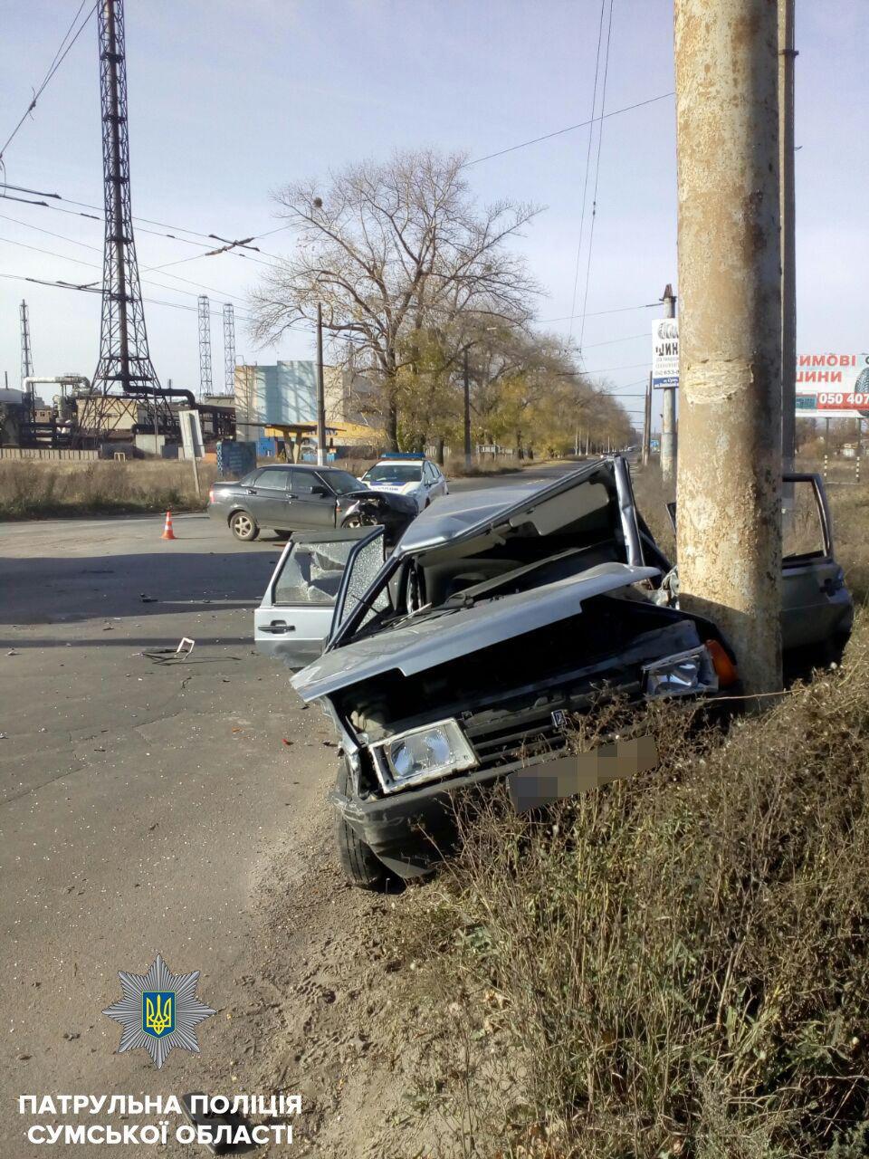 В результате ДТП в Сумах пострадал мужчина и ребенок, фото-2