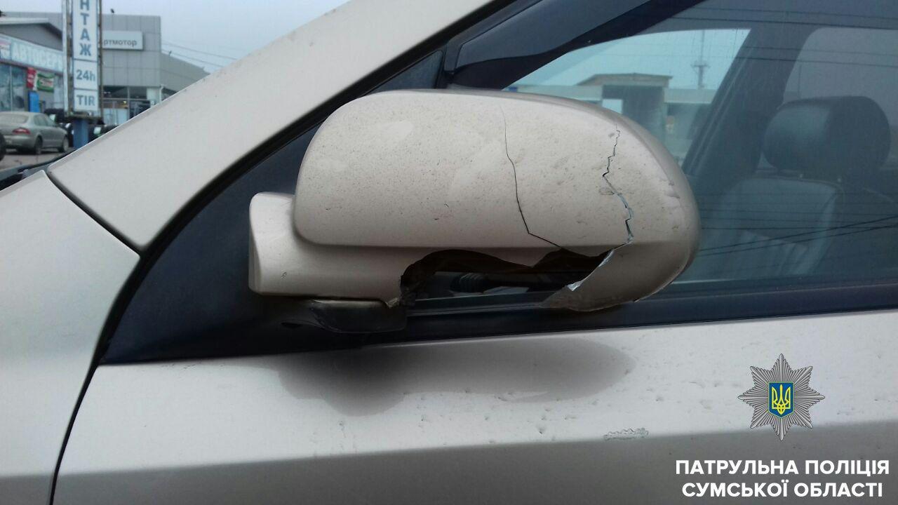 В Сумах не разминулись два автомобиля, фото-1