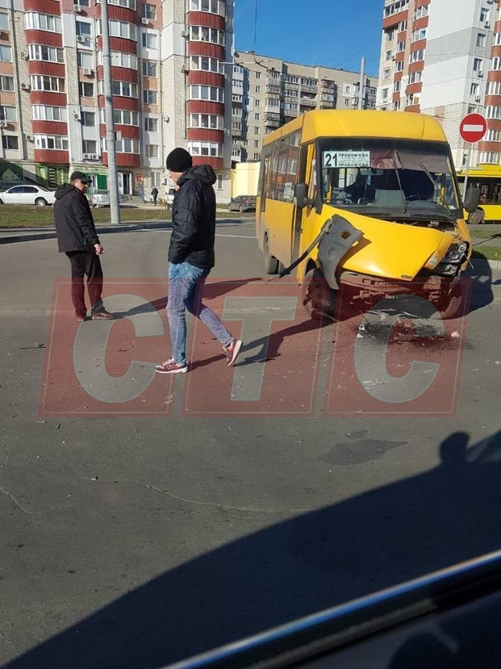 В Сумах за полдня две маршрутки стали участниками ДТП, фото-2