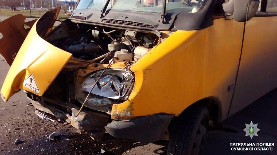 В Сумах пьяный водитель стал виновником ДТП с маршруткой, фото-4