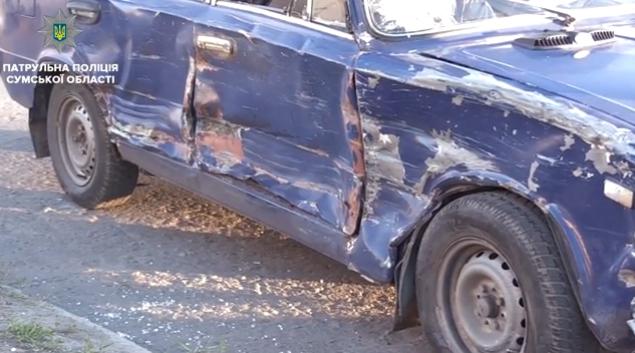 В Сумах пьяный водитель стал виновником ДТП с маршруткой, фото-3