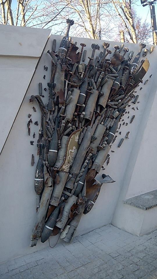 В Сумах завершили мемориал славы героев АТО, фото-1