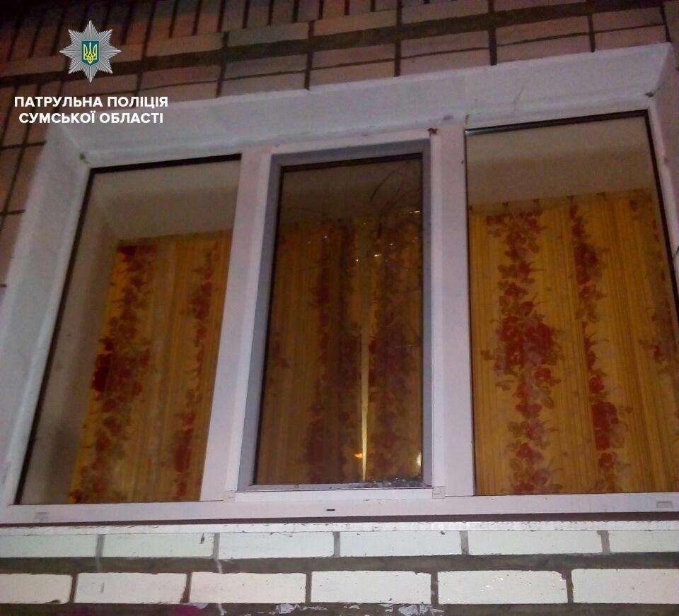 В Сумах задержали наркомана, который разбил окно чужой квартиры , фото-2