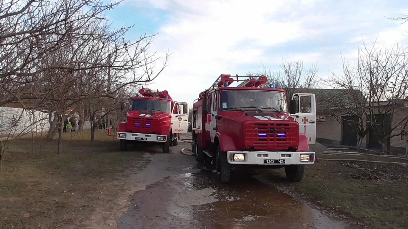В Сумах за сутки пожарные дважды ликвидировали возгорание жилых домов, фото-3