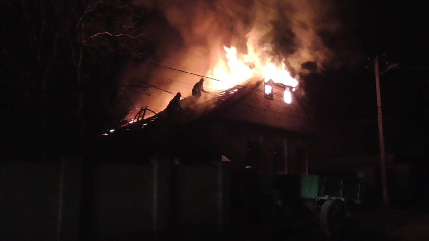 В Сумах за сутки пожарные дважды ликвидировали возгорание жилых домов, фото-1