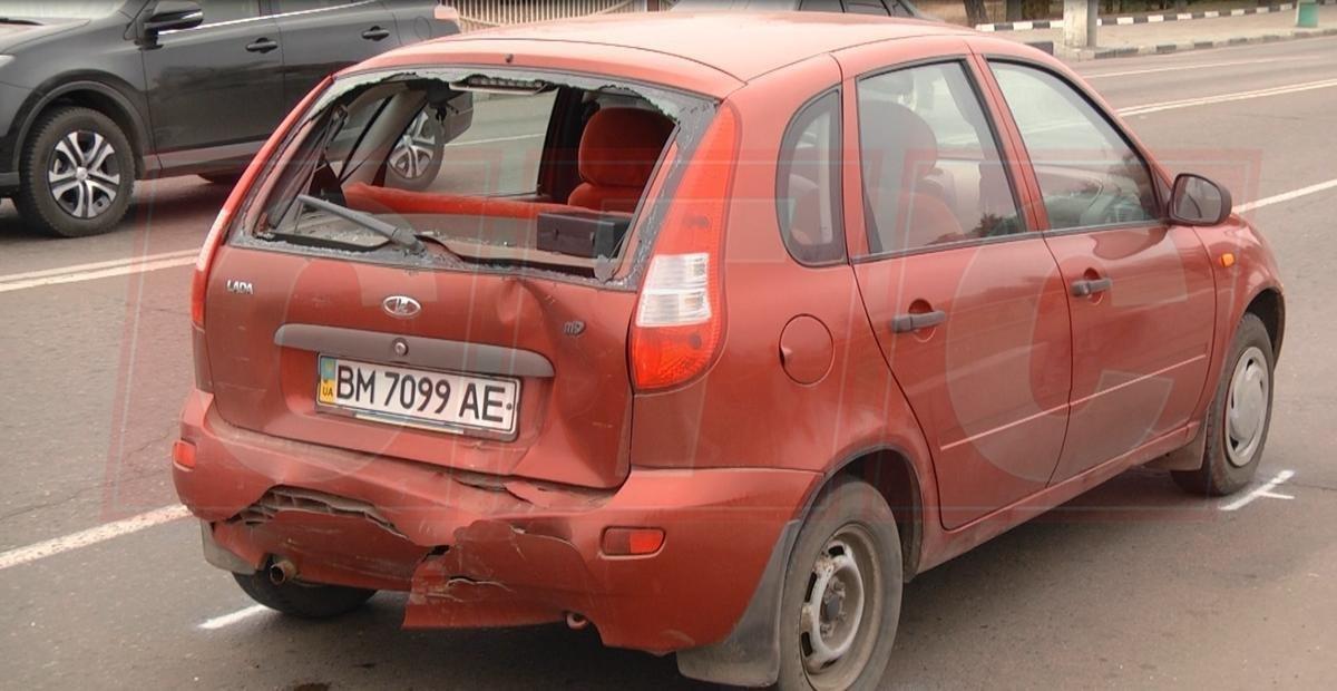 В Сумах произошло ДТП с участием маршрутки , фото-1