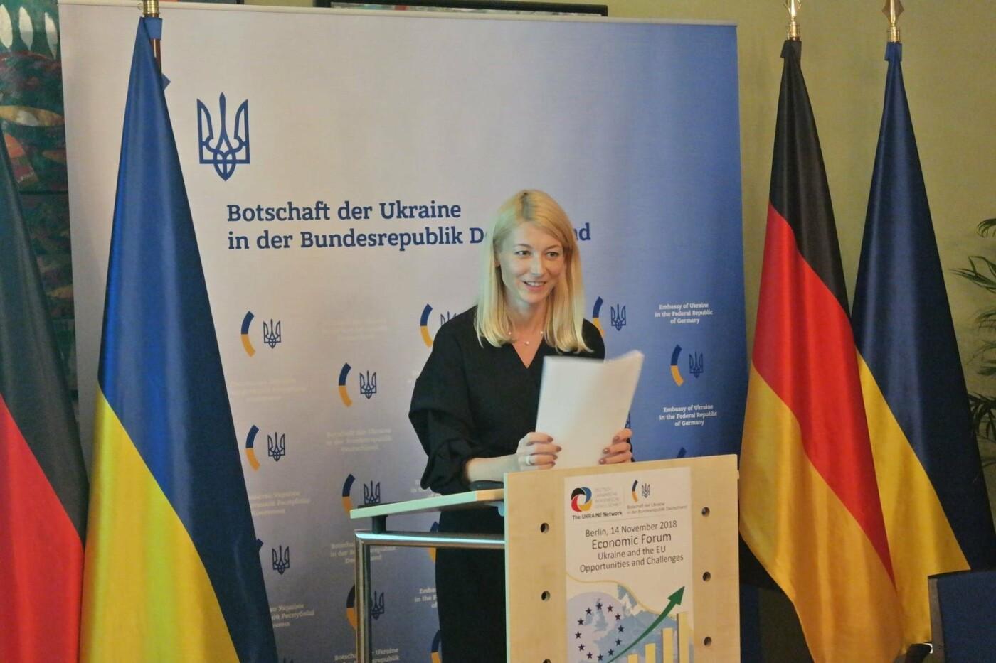 За ініціативи Сумського науковця і за підтримки Посольства України у ФРН відбувся Економічний Форум у м. Берлін, фото-1