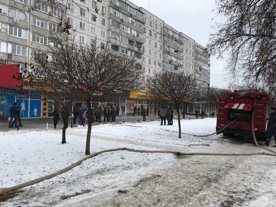 В центре Сум в магазине «ANDI» произошел пожар, фото-2