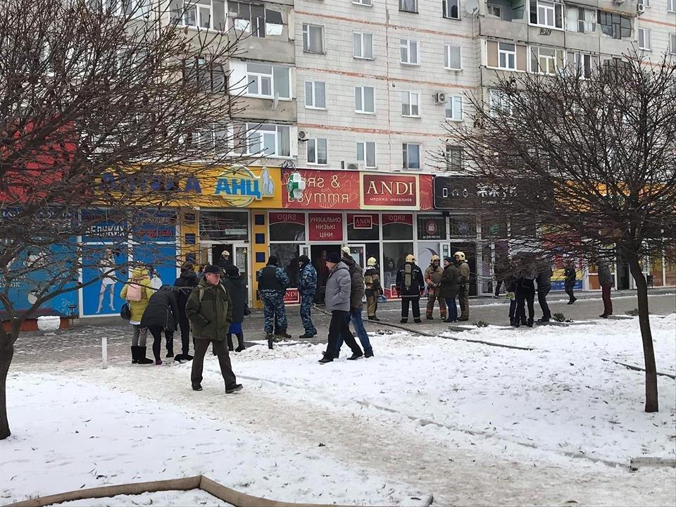 В центре Сум в магазине «ANDI» произошел пожар, фото-1