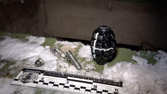 В Сумах дети игрались гранатой, фото-1