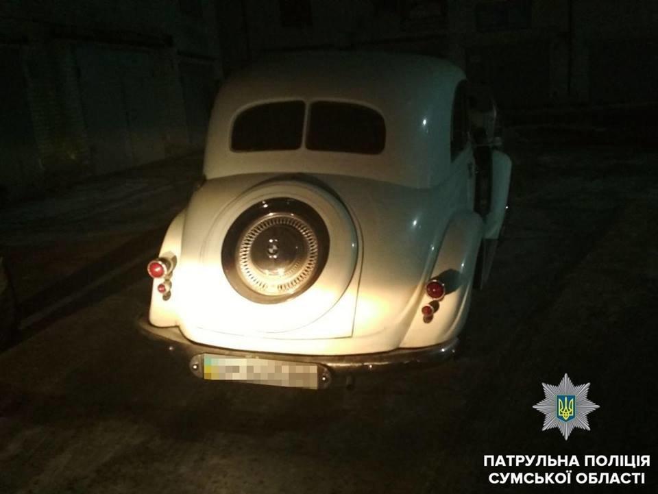 В Сумах выявили BMW с поддельными документами, фото-1