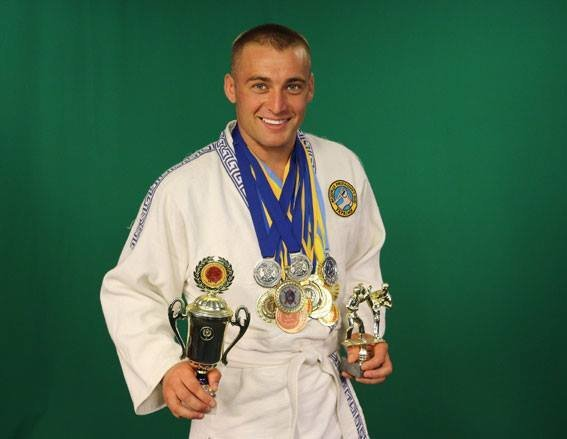 Полицейский с Сумщины занял третье место в чемпионате Украины по панкратиону и грепплингу , фото-1