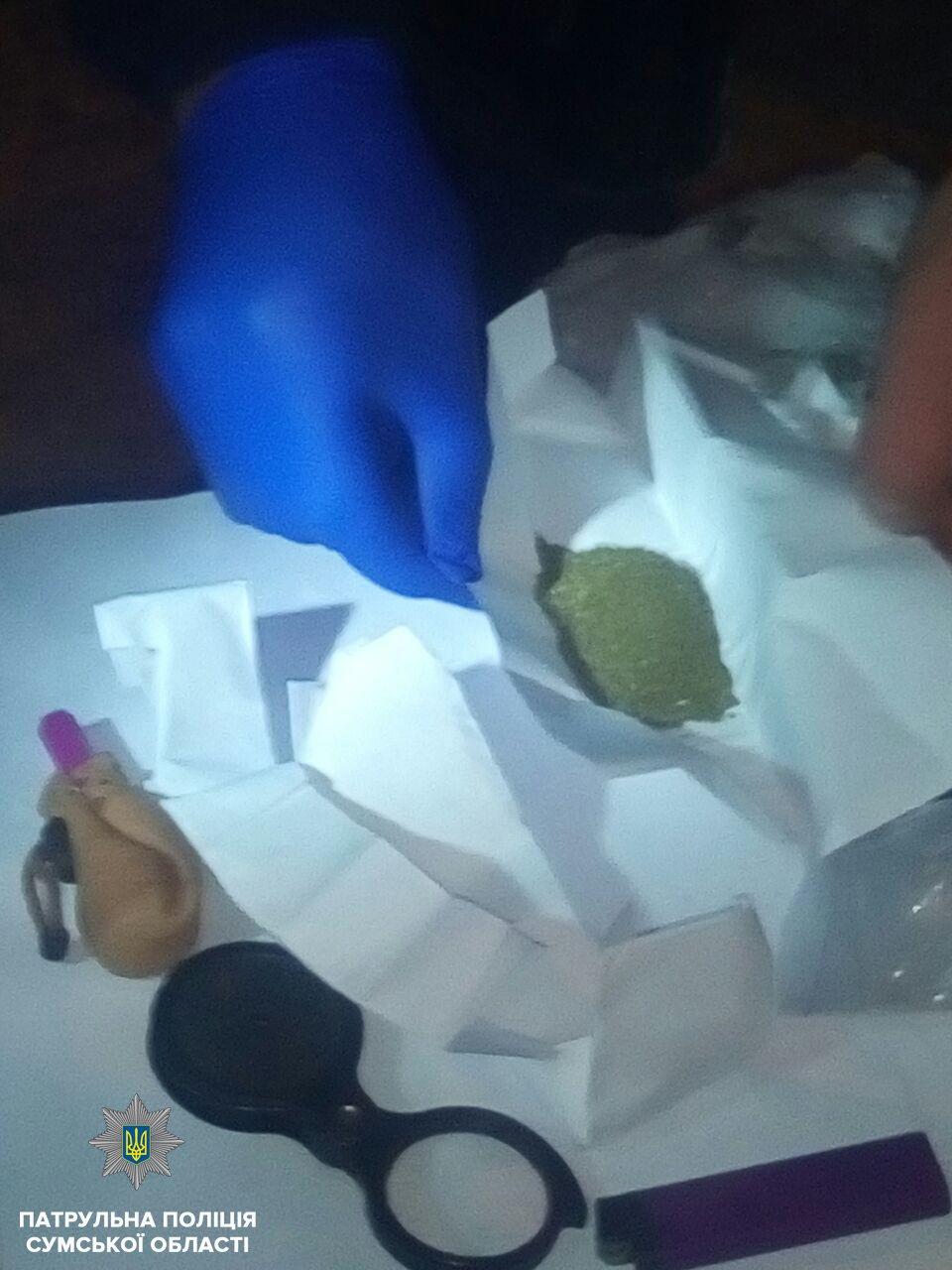 В Сумах остановили пьяного водителя без прав и с наркотиками, фото-1