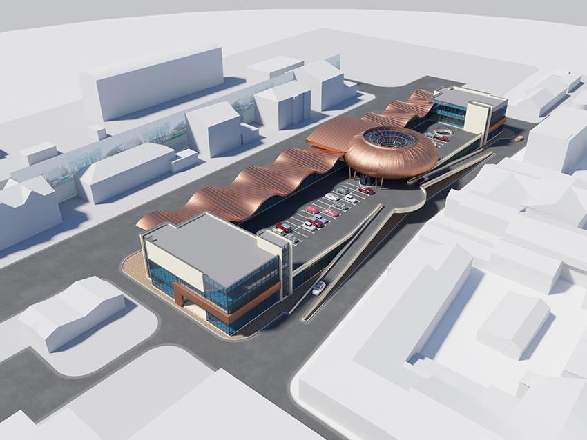 Сумской архитектор показал проект торгового комплекса «Набережный», фото-12