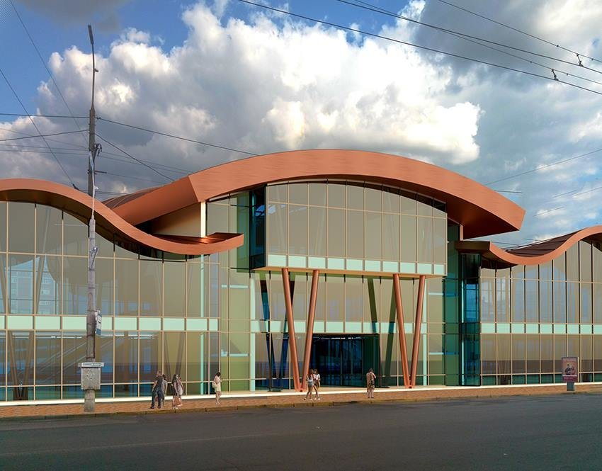 Сумской архитектор показал проект торгового комплекса «Набережный», фото-9