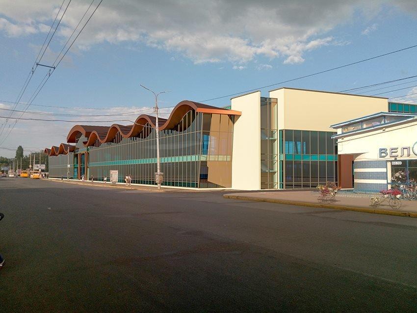 Сумской архитектор показал проект торгового комплекса «Набережный», фото-8