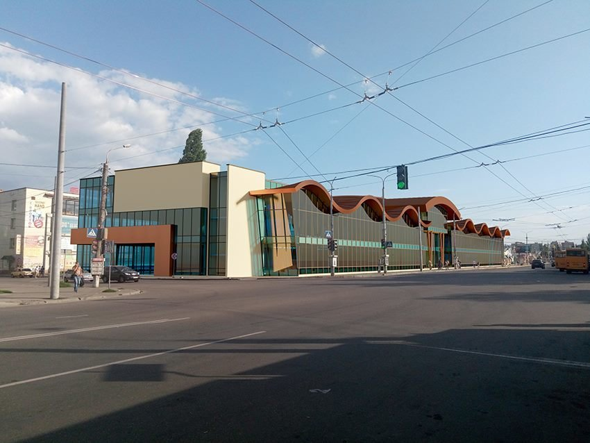 Сумской архитектор показал проект торгового комплекса «Набережный», фото-5