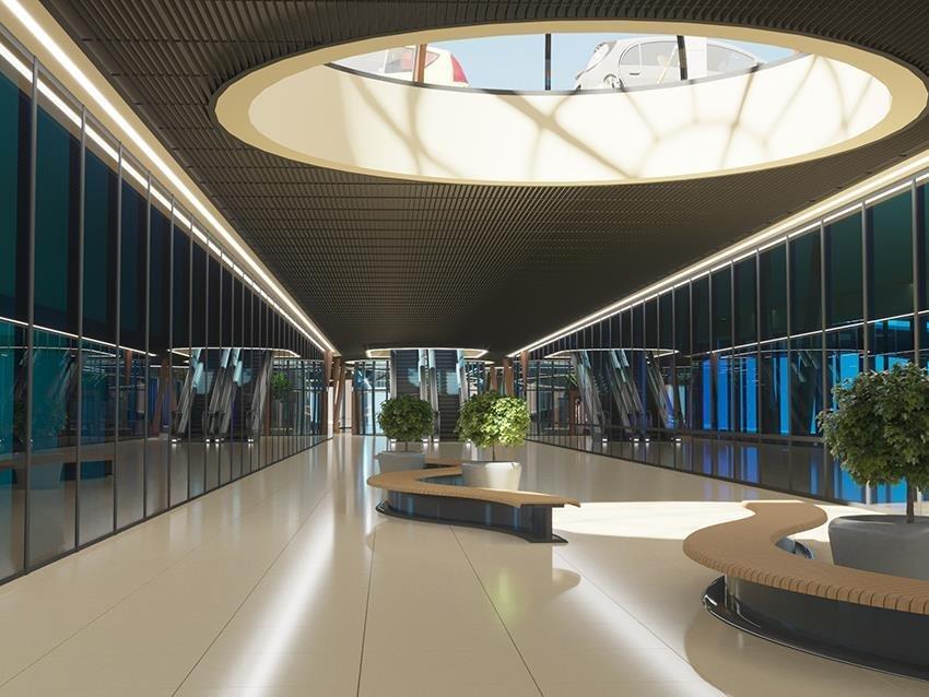 Сумской архитектор показал проект торгового комплекса «Набережный», фото-15