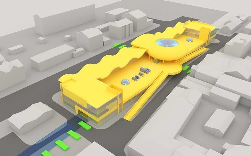 Сумской архитектор показал проект торгового комплекса «Набережный», фото-3